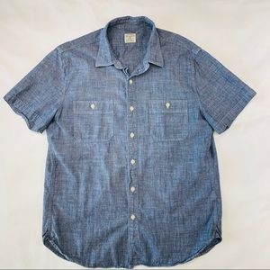 J CREW Men's Chambray Shirt